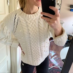 Cupcakes and Cashmere Woven Sweater (barely worn)